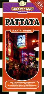 Pattaya, Thailand, Map 'n' Guide by Groovy Map Co.