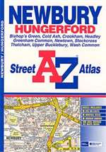 Newbury, Hungerford, Bishop's Green, Cold Ash and Crookham, United Kingdom, Atlas by Geographers' A-Z Map Company