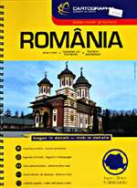 Romania, Road Atlas by Cartographia