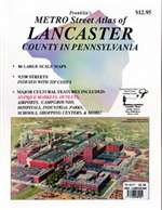 Lancaster County, Pennsylvania, Atlas by Franklin Maps