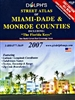 Miami-Dade and Monroe Counties, Florida by Dolph Map Company