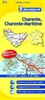 Charente, Charente-Maritime (324) by Michelin Maps and Guides
