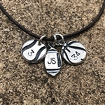 Personalized Sports Charms - Baseball, Basketball, Football