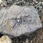 Signature Initial Necklace - AM