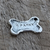 Personalized Dog Bone Tag - Puppy Love
