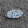 Personalized Vintage Oval Tag