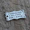 Personalized Vintage Rectangle Tag