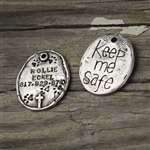 Keep Me Safe Pet Tag