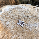 Mini Texas Necklace with Ruby