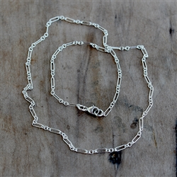 2.2mm One Long/ Three Short Chain by the Inch
