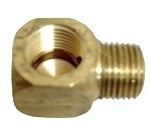 LUBE  #106101   ELBOW CONNECTOR 1/8BSPT X 1/8BSPT