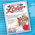 GREATEST LOVER DIPLOMA FOR HER