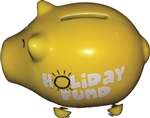 HOLIDAY FUND PIGGY BANK