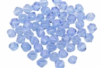 Bead, Crystal, Bicone, Faceted, 4MM, Light Sapphire