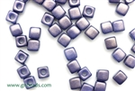6/0 Cubix 4MM Czech Beads / Dark Cerulean