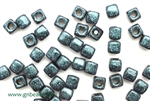 6/0 Cubix 4MM Czech Beads / Van Gogh Zircon