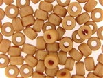 Czech Crow Beads / 6MM X 9MM Beige