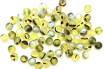 Bead, Czech, Glass, Matte Finish, Round, Druk, 6MM, Peridot Black AB