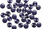 Bead, Czech, Disc, Glass, Vintage, 9MM, Blue
