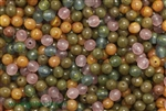 Bead, Czech, Round, Mixed Color, Glass, 6MM