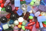 Bead, Czech, Vintage, Mixed Shape & Color, Glass, 6MM To 23MM