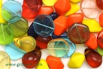 Bead, Czech, Vintage, Mixed Shape & Color, Glass, 16MM To 20MM