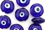 Evil Eye Bead / 23MM Lentil