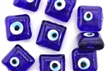 Evil Eye Bead / 18MM Square Pillow
