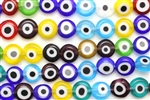 Evil Eye Bead / 8MM Coin