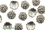 """Pewter"" Bead Cap / 4.2MM,Antique Silver"