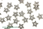 """Pewter"" Beads / 8MM Daisy Spacer,Antique Silver"