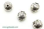 """Pewter"" Beads / 12MM Round,Antique Silver"