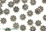 """Pewter"" Beads / 9MM Daisy Spacer,Antique Silver"
