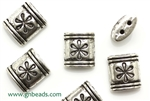 """Pewter Beads"" / 13MM,2 Hole Spacer,Antique Silver"