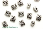 """Pewter Beads"" / 6MM ,Antique Silver"