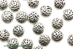 """Pewter"" Beads / 9MM Coin,Antique Silver"