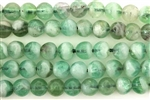 Gemstone Bead, Green Quartz, Round, 8MM