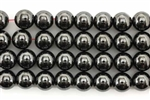 Bead, Gemstone, Hematite, Round, Magnetic, 8MM
