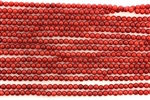 Bead, Coral, Round, 3MM