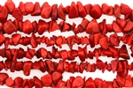 Gemstone Bead, Coral, 6MM, Chips