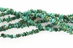 Gemstone Bead, Natural Turquoise, 3MM, Chips