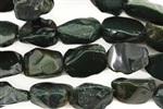 Bead, Gemstone, Bloodstone, Nugget, 18MM