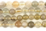 Gemstone Bead, Agate Mix, Round, 6MM