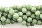 Gemstone Bead, Jadeite, Round, 8MM