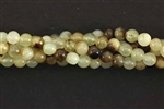 "Gemstone Bead, Antique ""Jade"", Round, 4MM"