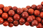 Gemstone Bead, Red Jasper, Round, 8MM