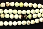 Bead, Gemstone, Yellow Chrysoprase, Round, 6MM