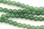Gemstone Bead, Aventurine, Round, 8MM