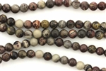 Gemstone Bead, Artistic Jasper, Round, 6MM