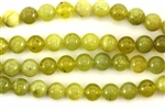 "Gemstone Bead, Korean ""Jade"", Round, 8MM"